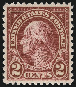 Sale Number 953, Lot Number 1351, 1925 and Later Issues (Scott 622 and Later Issues)2c Carmine, Ty. II (634A), 2c Carmine, Ty. II (634A)