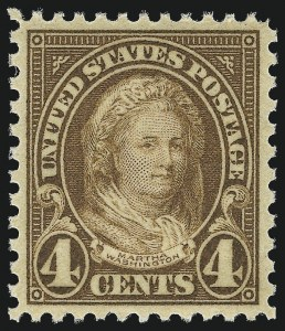 Sale Number 953, Lot Number 1354, 1925 and Later Issues (Scott 622 and Later Issues)4c Yellow Brown (636), 4c Yellow Brown (636)