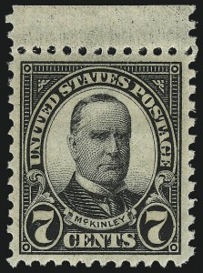 Sale Number 953, Lot Number 1356, 1925 and Later Issues (Scott 622 and Later Issues)7c Black (639), 7c Black (639)