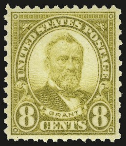 Sale Number 953, Lot Number 1358, 1925 and Later Issues (Scott 622 and Later Issues)8c Olive Bister (640), 8c Olive Bister (640)