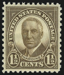 Sale Number 953, Lot Number 1372, 1925 and Later Issues (Scott 622 and Later Issues)-1/2c Brown (684), -1/2c Brown (684)