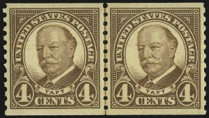Sale Number 953, Lot Number 1373, 1925 and Later Issues (Scott 622 and Later Issues)4c Brown, Coil (687), 4c Brown, Coil (687)