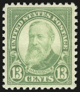 Sale Number 953, Lot Number 1375, 1925 and Later Issues (Scott 622 and Later Issues)13c Yellow Green (694), 13c Yellow Green (694)