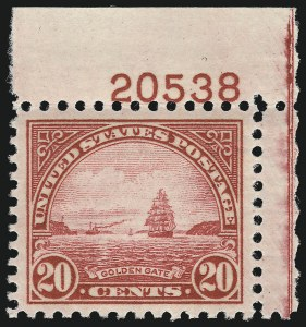 Sale Number 953, Lot Number 1377, 1925 and Later Issues (Scott 622 and Later Issues)20c Carmine Rose (698), 20c Carmine Rose (698)