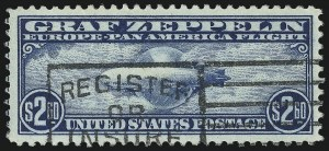 Sale Number 953, Lot Number 1411, Air Post$2.60 Graf Zeppelin (C15), $2.60 Graf Zeppelin (C15)