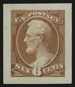 Sale Number 953, Lot Number 34, Essays, Proofs and Specimens6c Rose, Panama-Pacific Small Die Proof on Wove (208P2a), 6c Rose, Panama-Pacific Small Die Proof on Wove (208P2a)