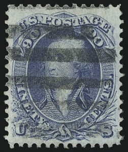 Sale Number 953, Lot Number 342, 1861-66 Issue (Scott 56-78)90c Blue (72), 90c Blue (72)
