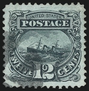 Sale Number 953, Lot Number 477, 1869 Pictorial Issue (Scott 112-122)12c Green (117), 12c Green (117)