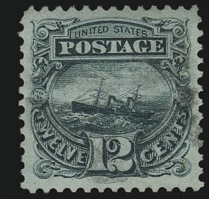 Sale Number 953, Lot Number 478, 1869 Pictorial Issue (Scott 112-122)12c Green (117), 12c Green (117)