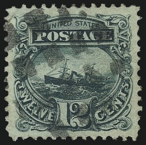 Sale Number 953, Lot Number 479, 1869 Pictorial Issue (Scott 112-122)12c Green (117), 12c Green (117)