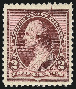 Sale Number 953, Lot Number 681, 1890-93 Issue (Scott 219-229)2c Lake (219D), 2c Lake (219D)