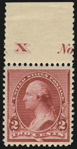 Sale Number 953, Lot Number 682, 1890-93 Issue (Scott 219-229)2c Carmine (220), 2c Carmine (220)