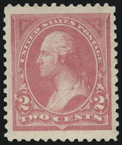 Sale Number 953, Lot Number 773, 1894 Unwatermarked Bureau Issue (Scott 246-263)2c Pink, Ty. I (248), 2c Pink, Ty. I (248)