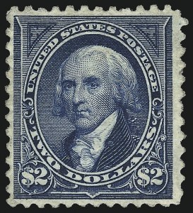 Sale Number 953, Lot Number 796, 1894 Unwatermarked Bureau Issue (Scott 246-263)$2.00 Bright Blue (262), $2.00 Bright Blue (262)