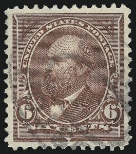 Sale Number 953, Lot Number 807, 1895 Watermarked Bureau Issue (Scott 264-278)6c Dull Brown (271), 6c Dull Brown (271)