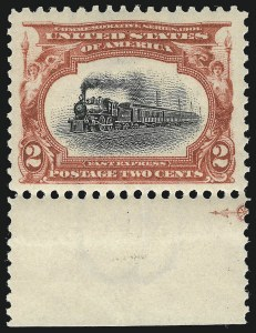 Sale Number 953, Lot Number 876, 1901 Pan-American Issue (Scott 294-299)2c Pan-American (295), 2c Pan-American (295)