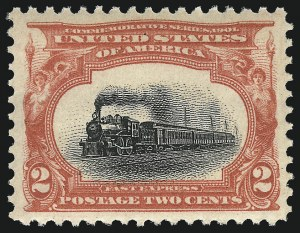 Sale Number 953, Lot Number 878, 1901 Pan-American Issue (Scott 294-299)2c Pan-American (295), 2c Pan-American (295)