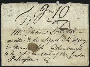 "Sale Number 954, Lot Number 3010, Colonial & 18th Century(Fredericksburg Va., 1755) ""from Rappannack River some miles below Fredericksburgh in Virginia"", (Fredericksburg Va., 1755) ""from Rappannack River some miles below Fredericksburgh in Virginia"""