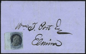 Sale Number 954, Lot Number 3046, 1851-57 Issue1c Blue, Ty. II (7), 1c Blue, Ty. II (7)