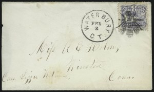 Sale Number 954, Lot Number 3061, 1861-69 Issues and Fancy Cancellations3c Ultramarine (114), 3c Ultramarine (114)