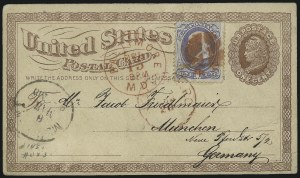 Sale Number 954, Lot Number 3111, 1867-68 Grills, Bank Notes & Later Issues1c Ultramarine (145), 1c Ultramarine (145)