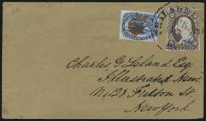 Sale Number 954, Lot Number 3129, Carriers, Locals and Independent Mails1c Blue, Eagle Carrier (LO2), 1c Blue, Eagle Carrier (LO2)