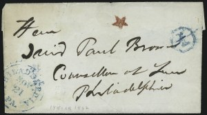 Sale Number 954, Lot Number 3130, Carriers, Locals and Independent MailsPhiladelphia Pa. Nov. 21, Philadelphia Pa. Nov. 21