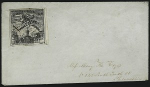 Sale Number 954, Lot Number 3133, Carriers, Locals and Independent MailsD. O. Blood & Co., Philadelphia Pa., (2c) Black (15L5), D. O. Blood & Co., Philadelphia Pa., (2c) Black (15L5)