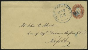 Sale Number 954, Lot Number 3161, Independent State & C.S.A. Use of U.S. StampsPetersburg Va. 3cts May 28 (1861), Petersburg Va. 3cts May 28 (1861)