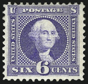 Sale Number 956, Lot Number 112, 1869 Pictorial Issue6c Ultramarine (115), 6c Ultramarine (115)