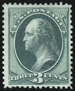 Sale Number 956, Lot Number 137, 1870 National Bank Note Co. Grilled Issue (Scott 134-144)3c Green, Grill (136), 3c Green, Grill (136)