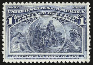 Sale Number 956, Lot Number 226, Columbian Issue1c Columbian (230), 1c Columbian (230)