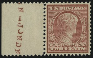 Sale Number 956, Lot Number 353, 1908-12 Issues (Scott 369-396)2c Lincoln, Bluish (369), 2c Lincoln, Bluish (369)