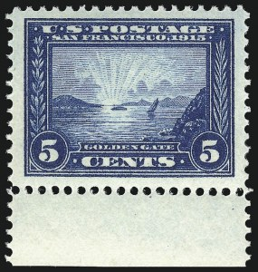 Sale Number 956, Lot Number 393, Panama-Pacific Issue5c Panama-Pacific (399), 5c Panama-Pacific (399)