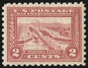 Sale Number 956, Lot Number 396, Panama-Pacific Issue2c Panama-Pacific, Perf 10 (402), 2c Panama-Pacific, Perf 10 (402)