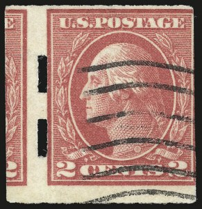Sale Number 956, Lot Number 486, 1917-23 Issues (Scott 482A-485)2c Deep Rose, Ty. Ia, Imperforate, Schermack Ty. III Private Perforation (482A), 2c Deep Rose, Ty. Ia, Imperforate, Schermack Ty. III Private Perforation (482A)