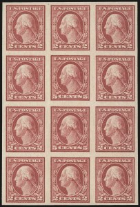 Sale Number 956, Lot Number 487, 1917-23 Issues (Scott 482A-485)5c Carmine, Imperforate, Error (485), 5c Carmine, Imperforate, Error (485)