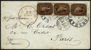 Sale Number 958, Lot Number 551, 1857-60 Issue5c Indian Red (28A), 5c Indian Red (28A)