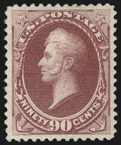 Sale Number 958, Lot Number 615, 1870-88 Bank Note Issues90c Carmine (191), 90c Carmine (191)