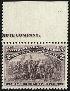 Sale Number 958, Lot Number 619, Columbian Issue2c Columbian (231), 2c Columbian (231)