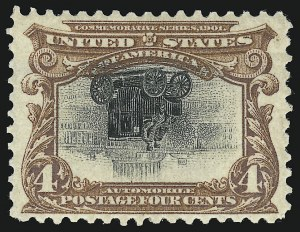 Sale Number 958, Lot Number 636, 4c Pan-American, Center Inverted (296a)