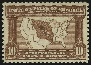 Sale Number 958, Lot Number 654, Louisiana Purchase and Jamestown Issues