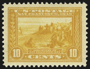 Sale Number 958, Lot Number 669, Panama-Pacific Issue10c Orange Yellow, Panama-Pacific (400), 10c Orange Yellow, Panama-Pacific (400)