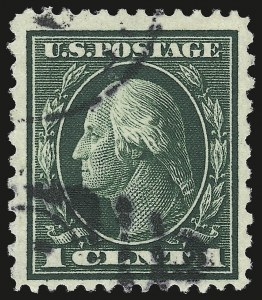 Sale Number 958 Lot 675 Washington Franklin Issues Continued1c