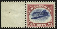 Sale Number 958, Lot Number 706, 24c Carmine Rose & Blue, Center Inverted (C3a)