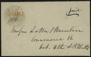 Sale Number 958, Lot Number 743, Carriers and LocalsPhiladelphia Despatch Post, Philadelphia Pa., 3c Red (15L1), Philadelphia Despatch Post, Philadelphia Pa., 3c Red (15L1)