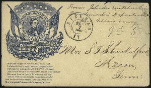 Sale Number 958, Lot Number 778, Confederate StatesHickman Ky. Sep. 7, 1861, Hickman Ky. Sep. 7, 1861