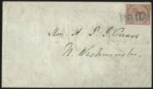 Sale Number 958, Lot Number 817, British North AmericaBRITISH COLUMBIA & VANCOUVER ISLAND, 1865, 5c Rose (3; SG 2), BRITISH COLUMBIA & VANCOUVER ISLAND, 1865, 5c Rose (3; SG 2)