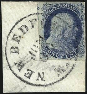 Sale Number 959, Lot Number 2076, 1851-56 Issue (Scott 5A-17)1c Blue, Ty. III (8), 1c Blue, Ty. III (8)