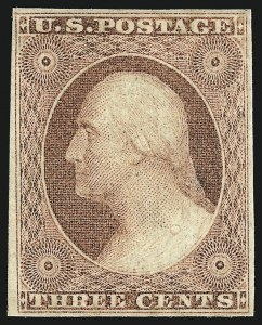 Sale Number 959, Lot Number 2104, 1851-56 Issue (Scott 5A-17)3c Dull Red, Ty. II (11A), 3c Dull Red, Ty. II (11A)
